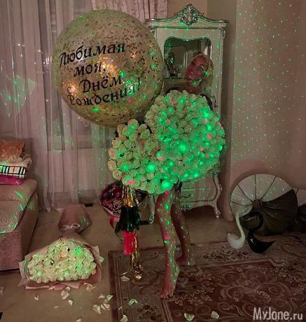 Анастасия Волочкова отпраздновала свой 44-й день рождения