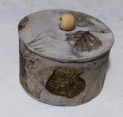 Шкатулка из бобины от скотча. Мастер-класс