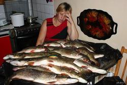 Кто у Вас чистит рыбу?