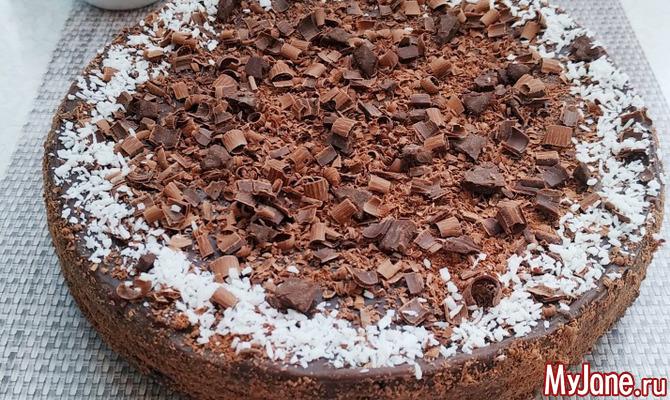 Шоколадный торт без муки и масла: вкусный десерт без вреда фигуре