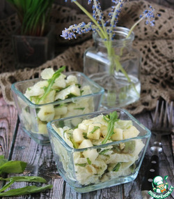 Смешанный салат с авокадо