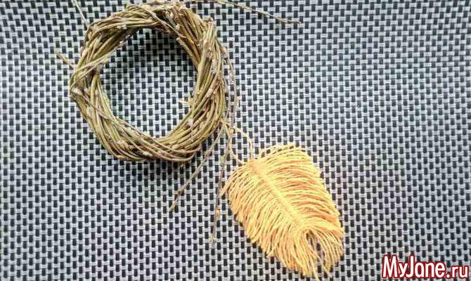 Перышки: азы плетения