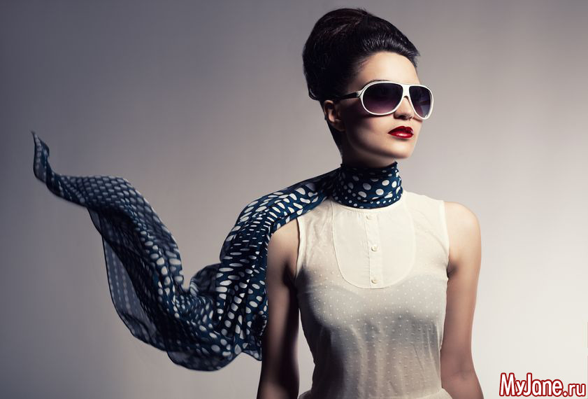 Уютные шарфы: модная цветовая гамма, принты