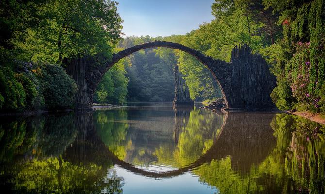 Легенды Дьявольского моста в Германии