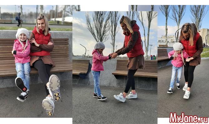 Модный эксперимент: учимся кататься на роликовых кроссовках