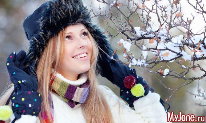 Как ухаживать за волосами зимой?