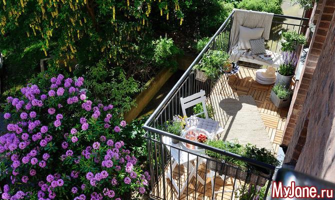 Самые удачные варианты использования балкона или лоджии
