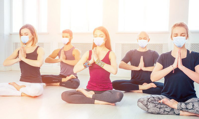 Йога в период пандемии