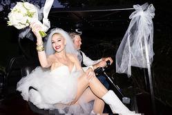 Гвен Стефани опубликовала первые снимки со своей свадьбы