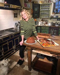 Юлия Высоцкая рассказала о том, как можно много есть и не толстеть