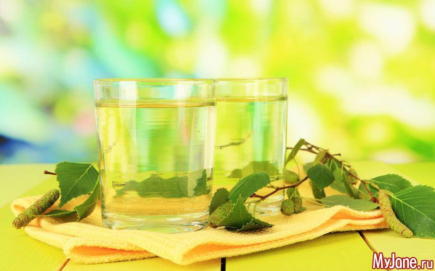 Берёзовый сок — подарок природы