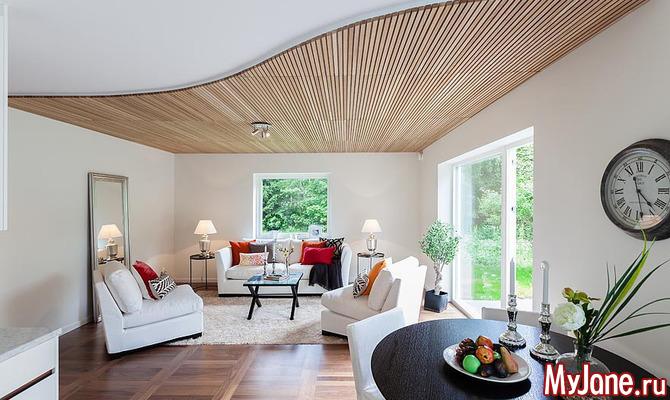 Можно ли сделать потолок визуально выше?