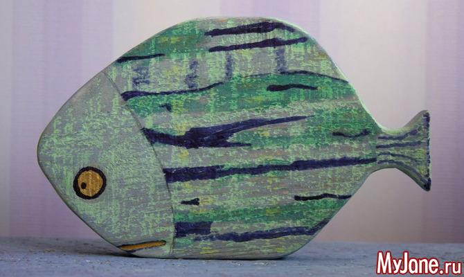Декор в виде рыбы