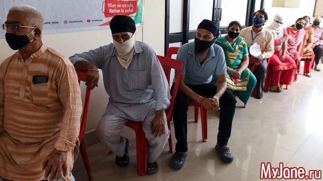В Индии за последние сутки было зарегистрировано более 400 тысяч заражений коронавирусом