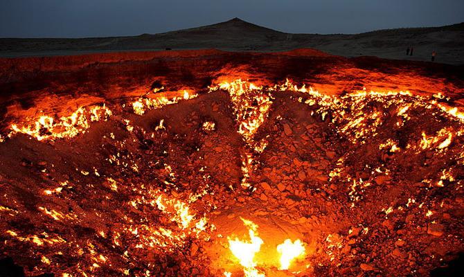 Дарваза или Врата в ад в Туркменистане