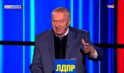 Во время дебатов с Владимира Жириновского сползли штаны