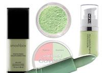 Консилер зеленого цвета