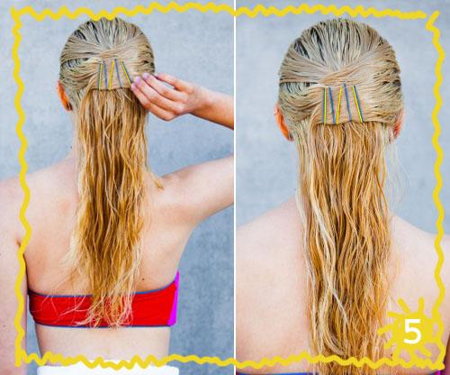 Прически на длинные волосы. на пляж