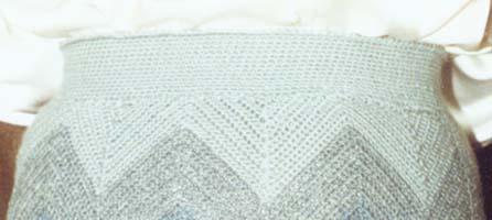 Вязание юбки крючком из квадратов