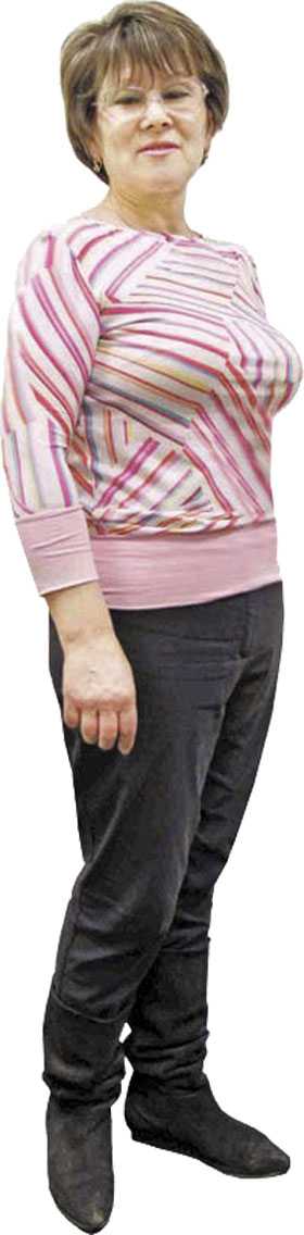 Людмила не боится снова растолстеть – она знает, как бороться с весом
