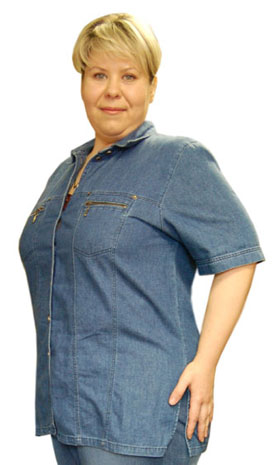 Избавившись от 45 килограмм, Ольга впервые в жизни надела брюки