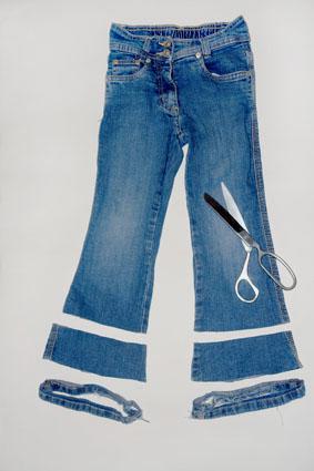 Как удлинить джинсы - 3 способа 32