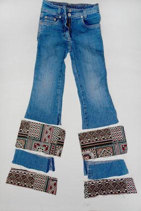 Как удлинить джинсы - 3 способа 66