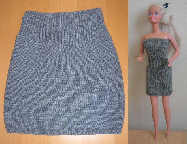 Схема простой юбки спицами
