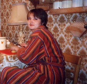 Наталья так любит поесть, что готова хоть весь день просидеть за обеденным столом
