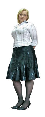 Наконец-то я влезла в свою любимую юбку, которую раньше не могла позволить себе носить, - улыбается Марина